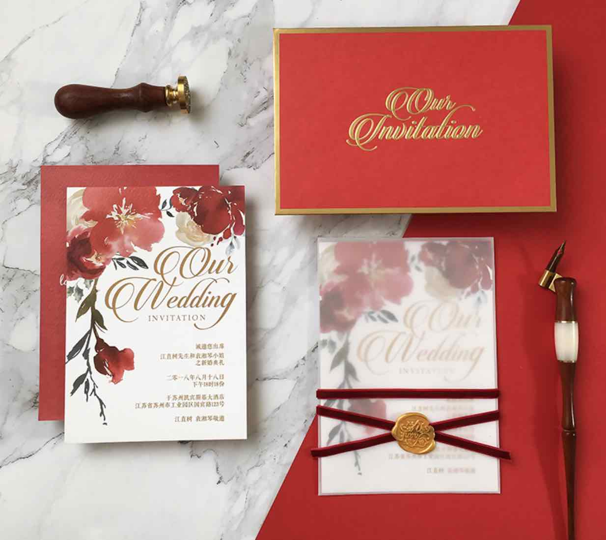 MustKnow Etiquette on Preparing Your Chinese Wedding Invitations  Asia Wedding Network
