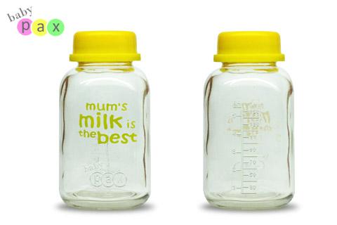 Botol Kaca Simpan ASI Perah BabyPax