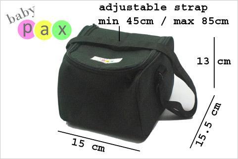 coolerbag babypax dimensi