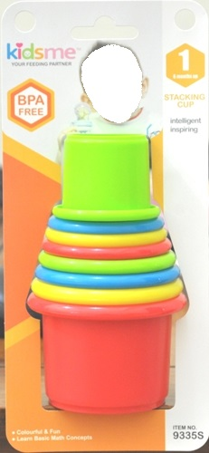Kidsme Stacking Cup Packaging