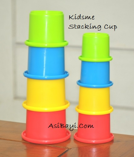 Kidsme Stacking Cup 8pk