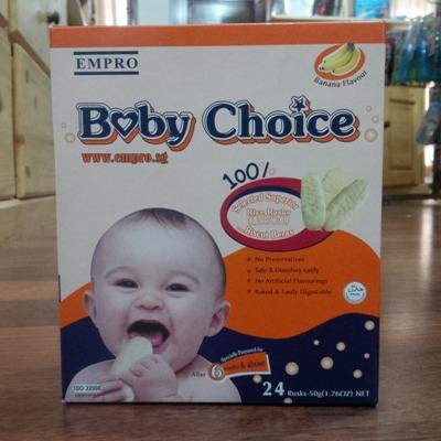 baby choice banana