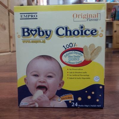 biskuit bayi baby choice rasa original