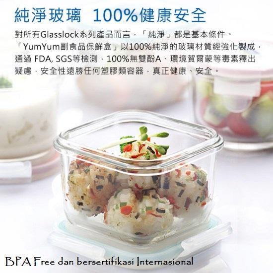 yumyum baby food container glasslock 5