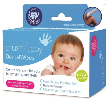 Brush Baby Dental Wipes
