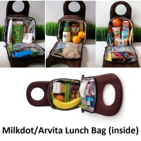 MilkDot Lunch Box inside
