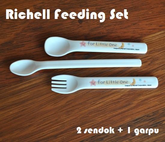 Richell Feeding Set 2