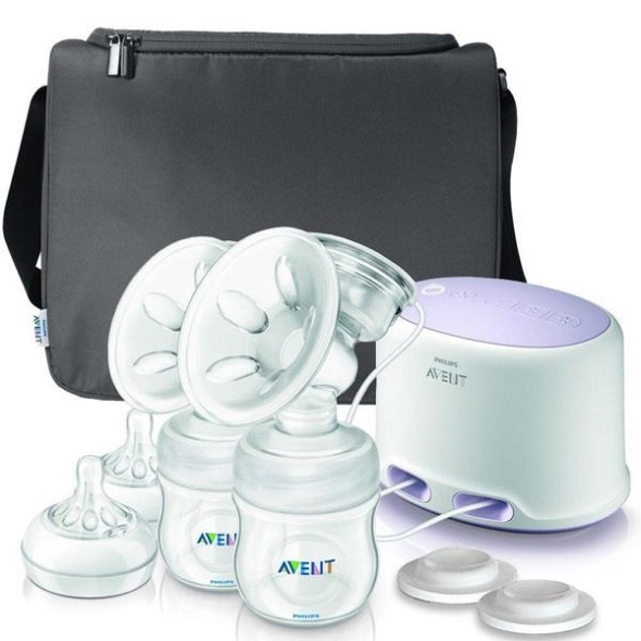 Philips Avent Twin Electric Breastpump Natural