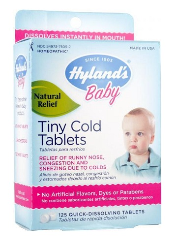 Hynlands Baby Tiny Cold Tablets