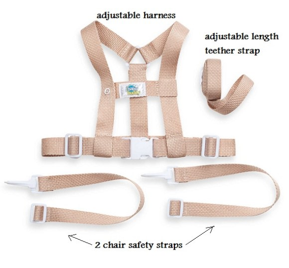 baby buddy deluxe security harness 2