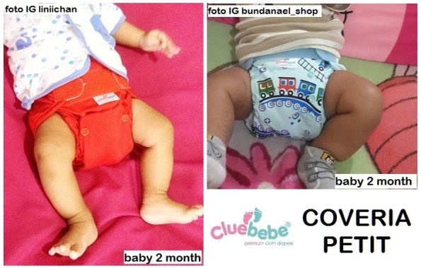 cluebebe coveria petit in use 2