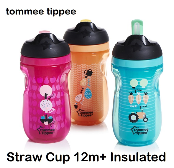 Tommee Tippee Straw Cup 12m+ Insulated