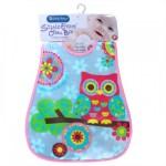 Lucky Baby Stylo Eezee Clean Bib Owl