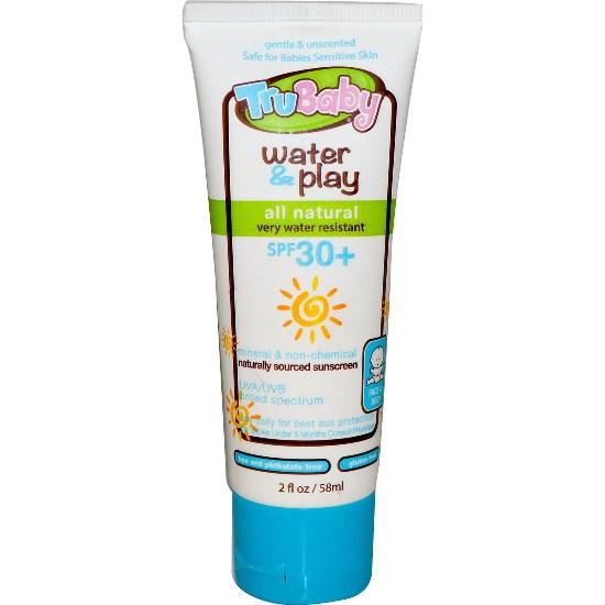 TruBaby Water Play SPF 30 Sunscreen