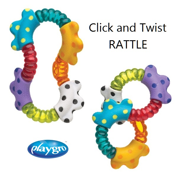Playgro Click and Twist Rattle (1)