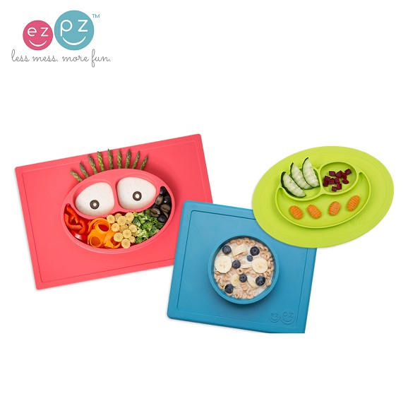 ezpz all in one silicone plates placemats