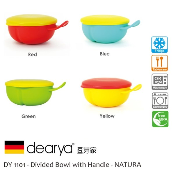 Dearya Natura DY1101 Divided Bowl with Handle