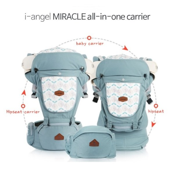 I-Angel Miracle 4in1 Hipseat Baby Carrier