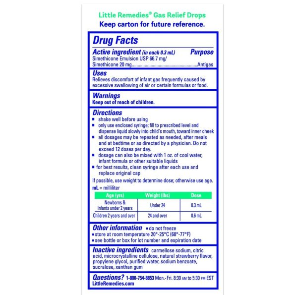 Little Remedies Gas Relief Drops (2)