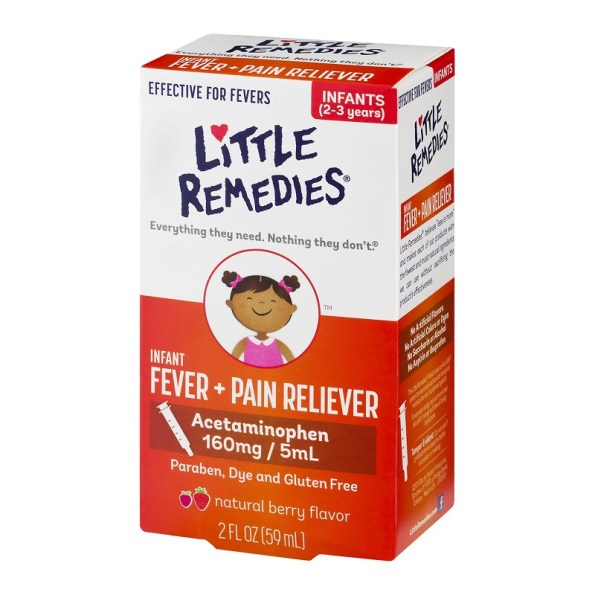 Little Remedies Infant Fever Plus Pain Reliever