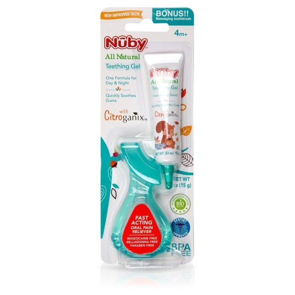Nuby All Natural Teething Gel (1)