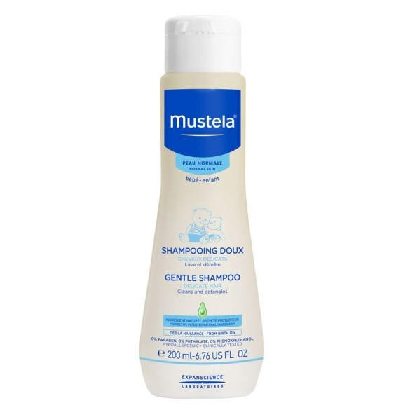 Mustela Bebe Gentle Shampoo 200ml