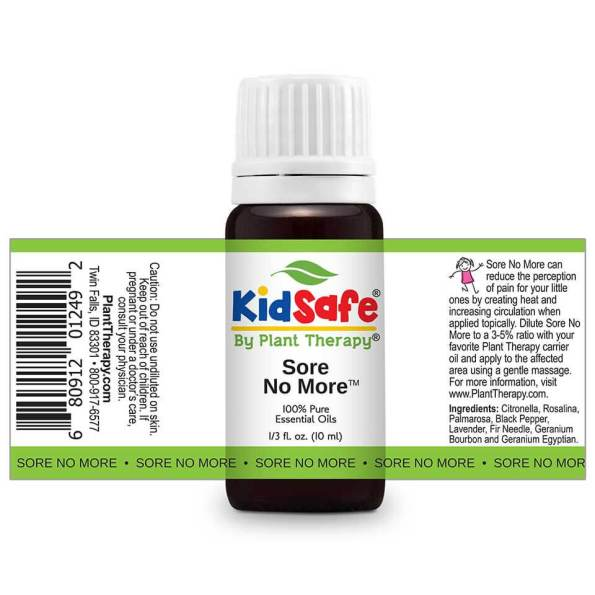 Sore No More Kidsafe by Plant Therapy