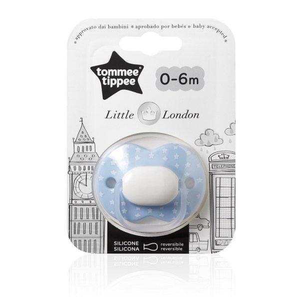 Tommee Tippee Little London Orthodontic Soother Blue