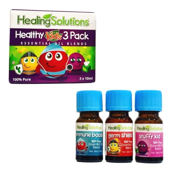 Healing Solutions Healthy Kids 3 Pack