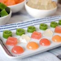 Healthy Fruit Snacks Recipe with Natural Juice