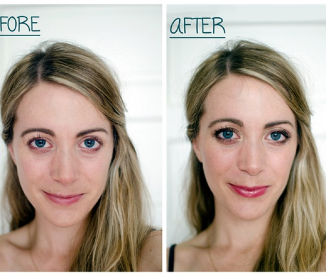 Before And After Holiday Makeup Look Tutorial