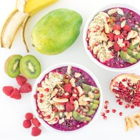 Antioxidant-Packed Dragonfruit Pitaya Bowls