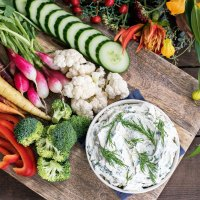 Fresh Herbed Cream Cheese Dip