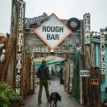 Django Rough Bar Cafe - Mendocino County Lunch Restaurants