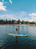 Stand Up Paddleboard Rental Whitefish Lake Montana