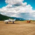 Charter Plane Above Arctic Circle Coldfoot to Fairbanks Alaska