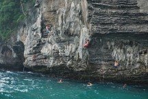 Deep Water Soloing, Ko Poda