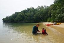 Paddeln vor Tanjung Rhu