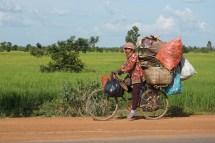 so viel Gepäck haben wir doch garnicht am Rad