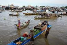 Schwimmender Markt Cái Răng in Cần Thơ
