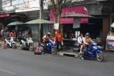 Mopedtaxis, Bangkok