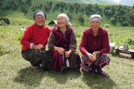 die drei Damen von der Jurte