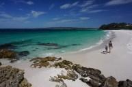 noch ein weißerster Strand - Chinamans Beach bei Hyams Beach