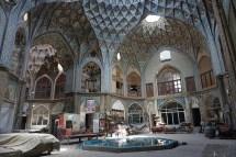 Timche-ye Amin al Dowleh, ein Innenhof im Basar von Kashan