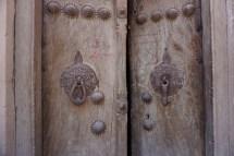 Wer klopft? unterschiedlich klingende Türklopfer für Frauen (links) und Männer (rechts) - Gaz