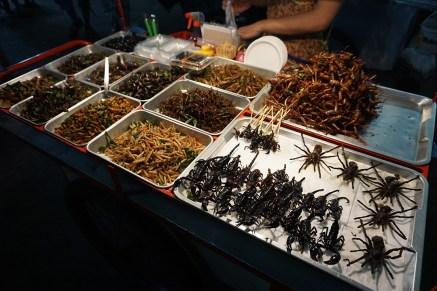 ist gekostet, außer die Spinnen, die kosten mit 11,- EUR zu viel, zum Glück - Bangkok