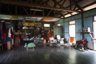Einraum-Wohnhaus von innen