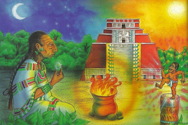 Leyendas Mayas-el-enano-de-uxmal
