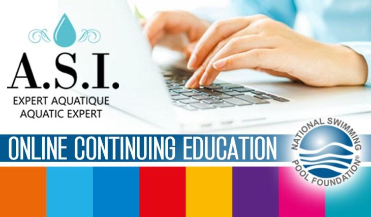ONLINE CONTINUING EDUCATION AT ASI AQUATIC EXPERT