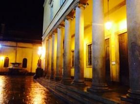 Night street in Parma